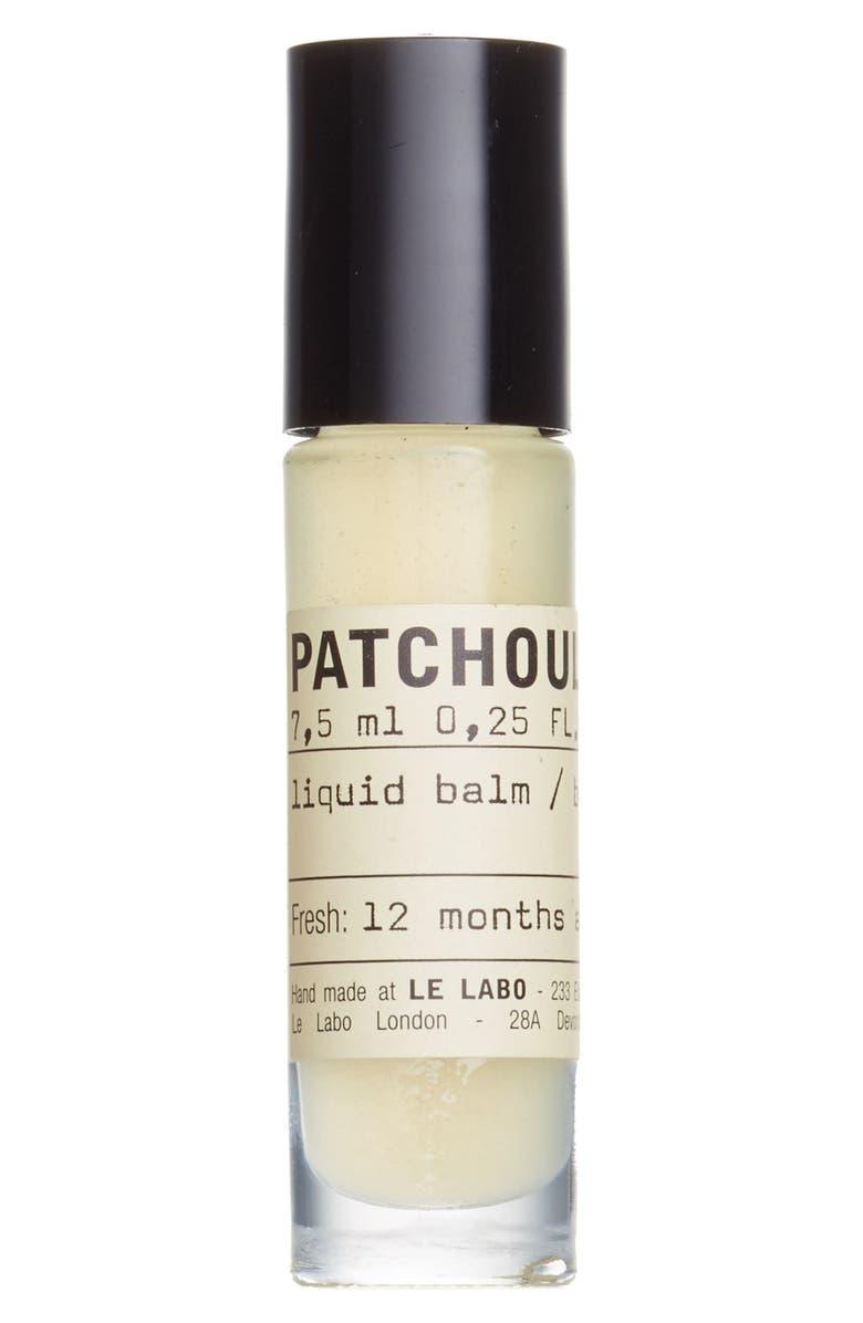 LE LABO 'Patchouli 24' Liquid Balm, Main, color, 000