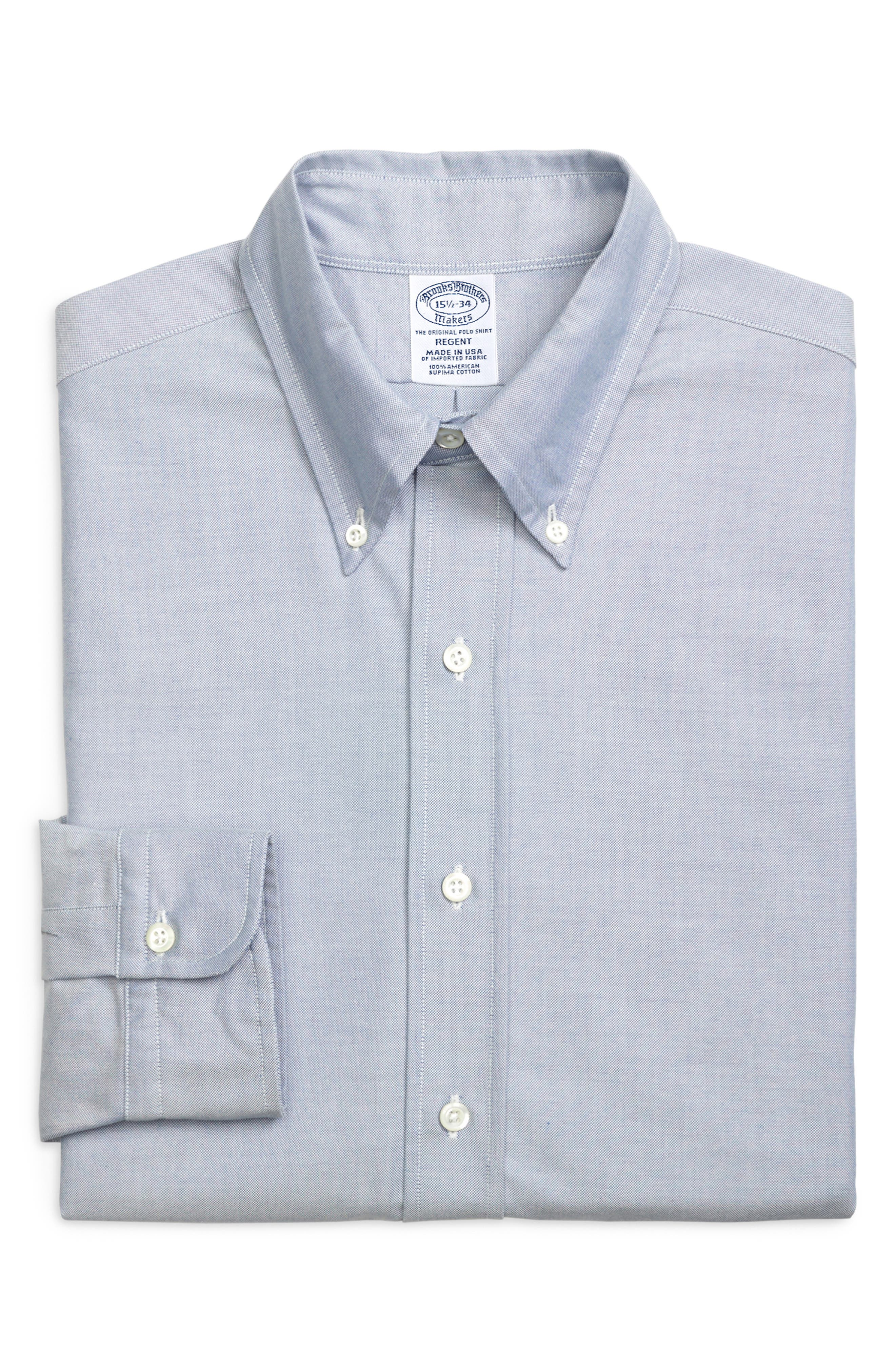 Regent Regular Fit Solid Dress Shirt