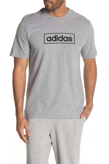 Image of adidas Short Sleeve Logo Tee