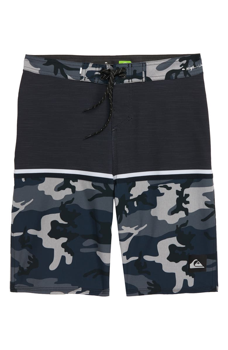 QUIKSILVER Highline Division Board Shorts, Main, color, IRON GATE
