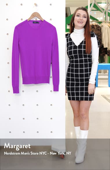 Long Sleeve Cashmere Sweater, sales video thumbnail