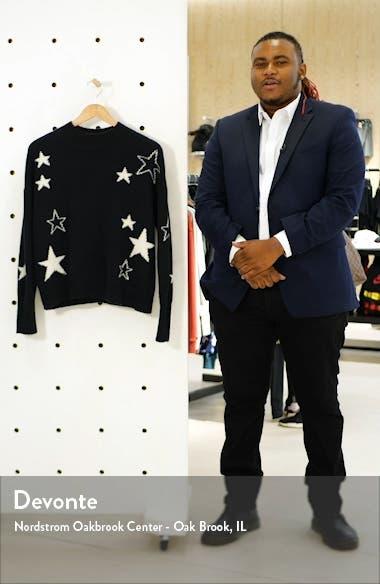Kana Star Detail Merino Wool & Cashmere Sweater, sales video thumbnail