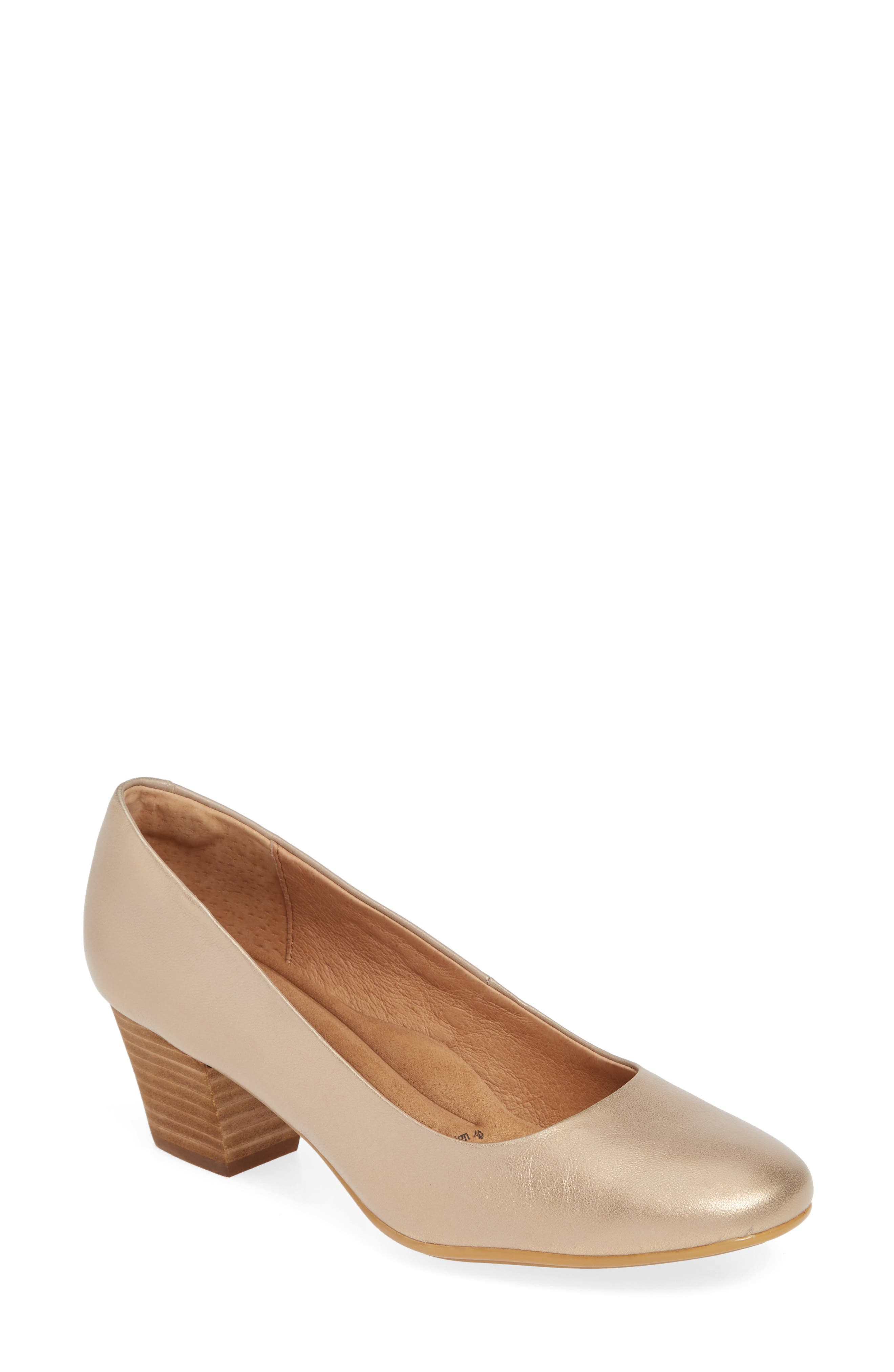Sofft Lindon Pump, Metallic