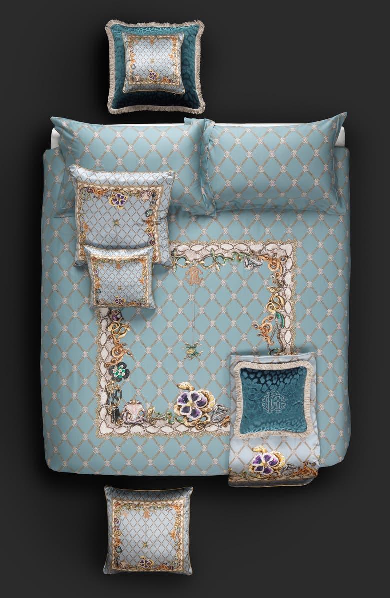 ROBERTO CAVALLI Spider Duvet Cover, Main, color, MULTICOLOR