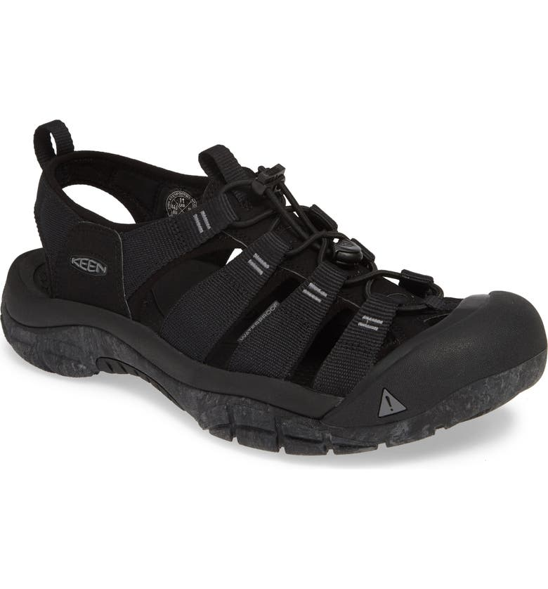 KEEN 'Newport H2' Sandal, Main, color, BLACK/ SWIRL OUTSOLE