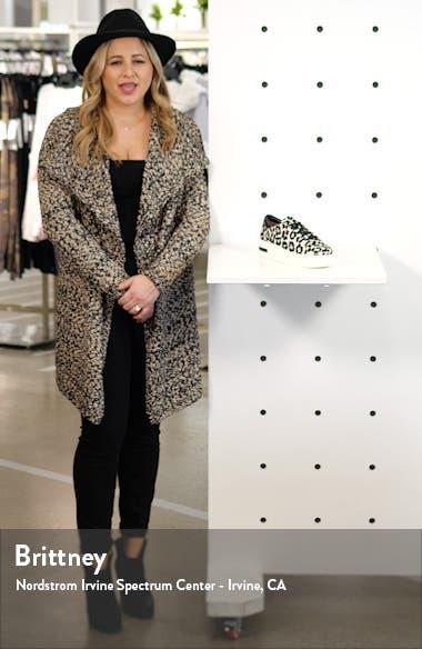 Kendra Genuine Calf Hair Platform Sneaker, sales video thumbnail