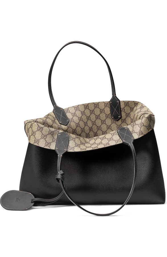 663799740 Gucci Medium Turnaround Reversible Leather Tote   Nordstrom