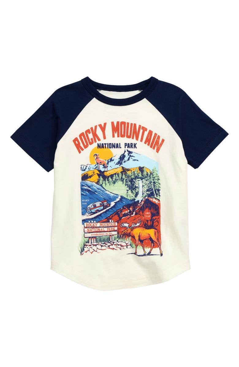 502d30f41 Peek Aren't You Curious Rocky Mountain National Park Graphic T-Shirt ...