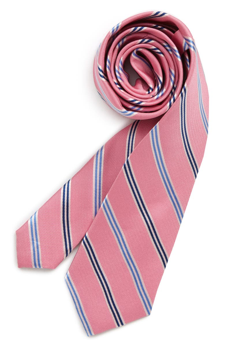 MICHAEL KORS Oxford Multi Stripe Tie, Main, color, 650