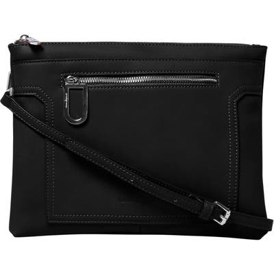 Urban Originals Muse Vegan Leather Crossbody Clutch - Black