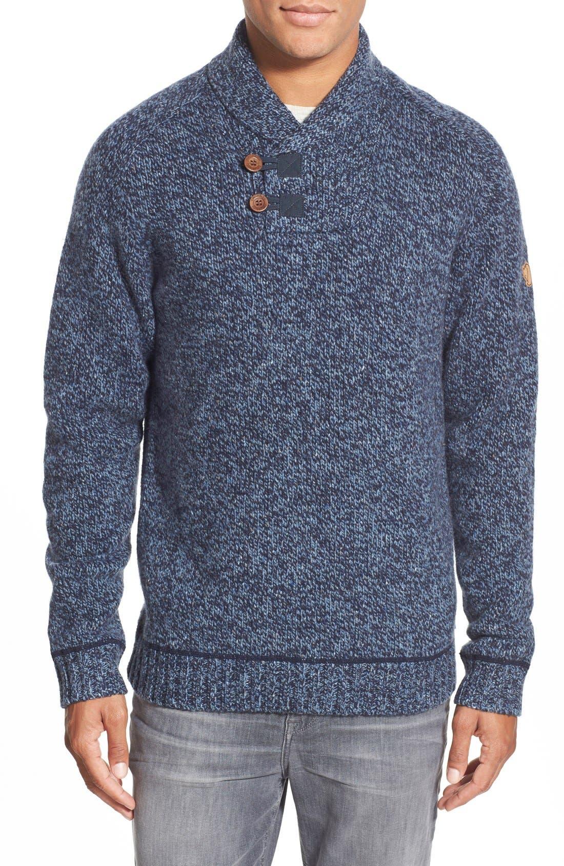 'Lada' Regular Fit Shawl Collar Sweater