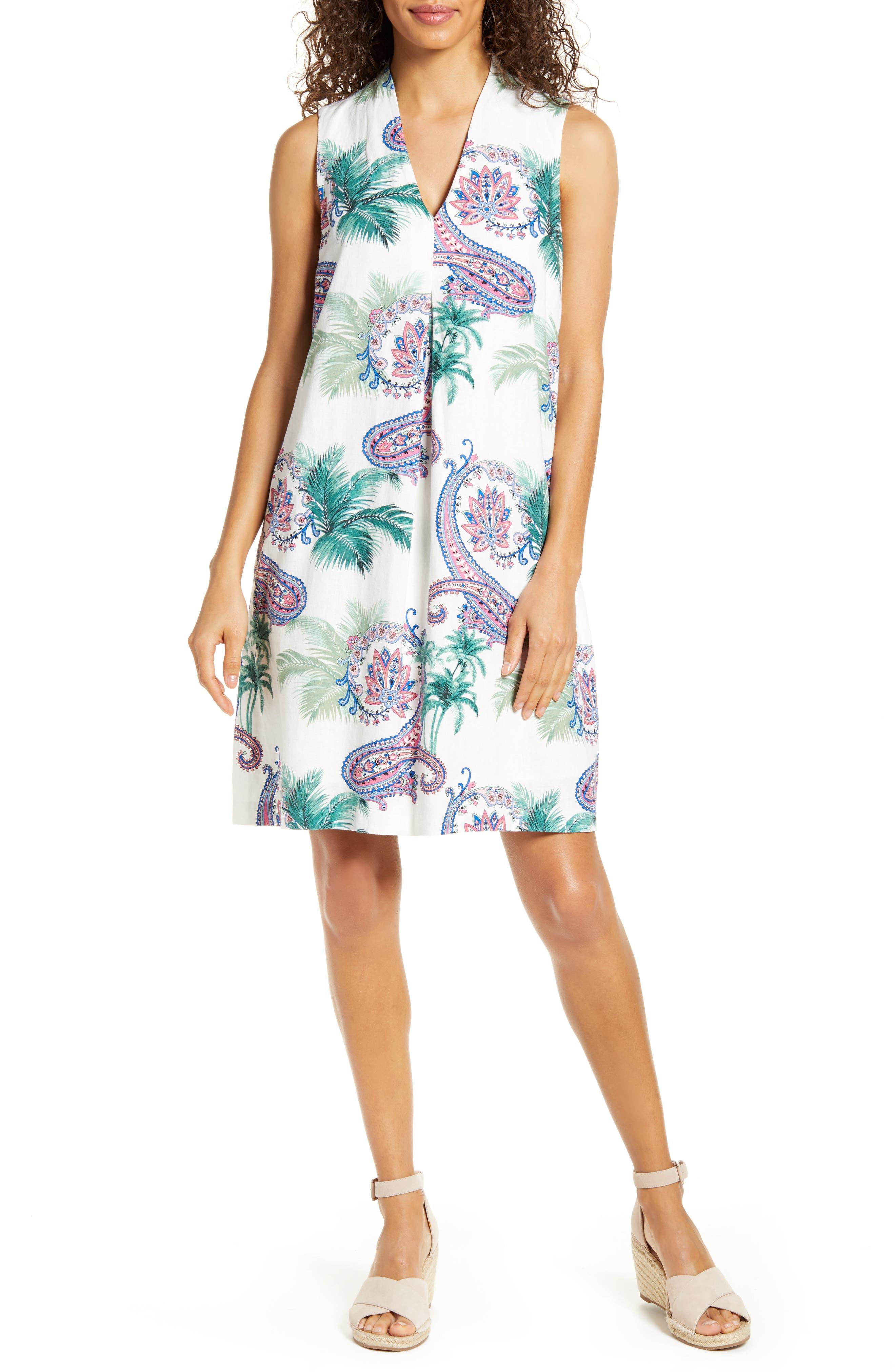 Image of Tommy Bahama Bombaisley Shift Dress