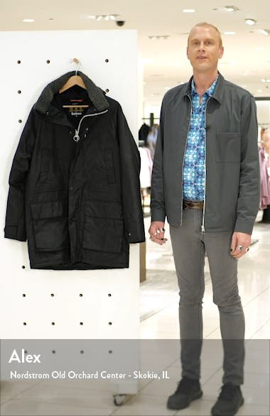 Fenton Hooded Waxed Cotton Jacket, sales video thumbnail