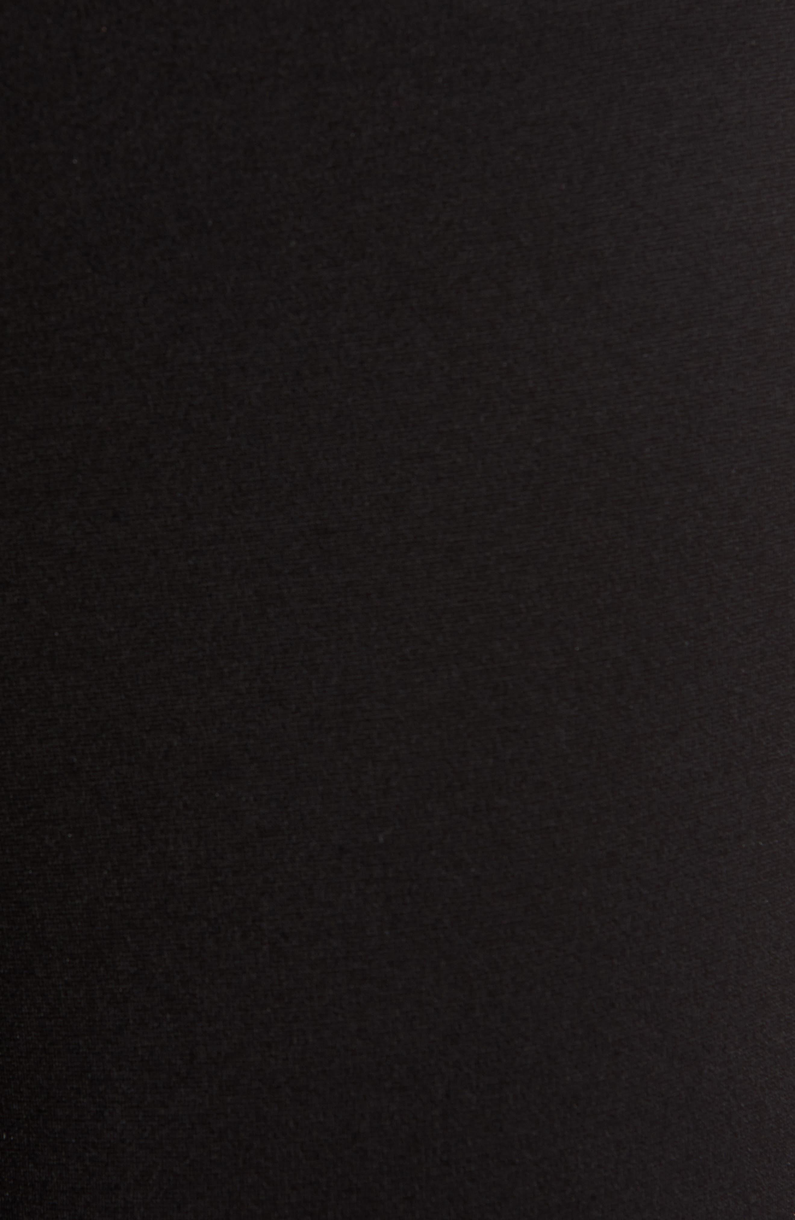 ,                             Lara Ponté Slim Pants,                             Alternate thumbnail 6, color,                             BLACK
