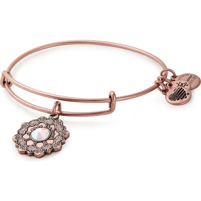 Alex And Ani Mother Of The Bride Expandable Wire Bangle
