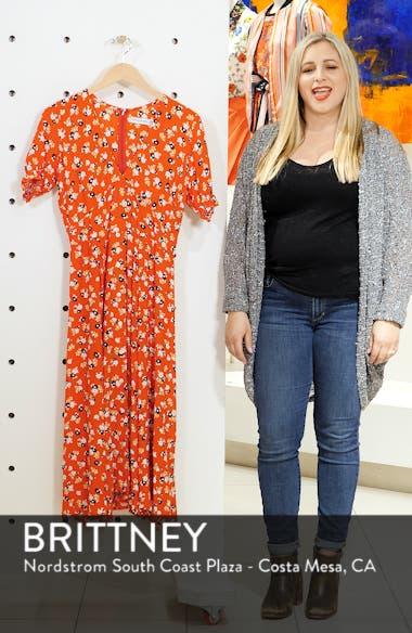Ari Floral Midi Dress, sales video thumbnail