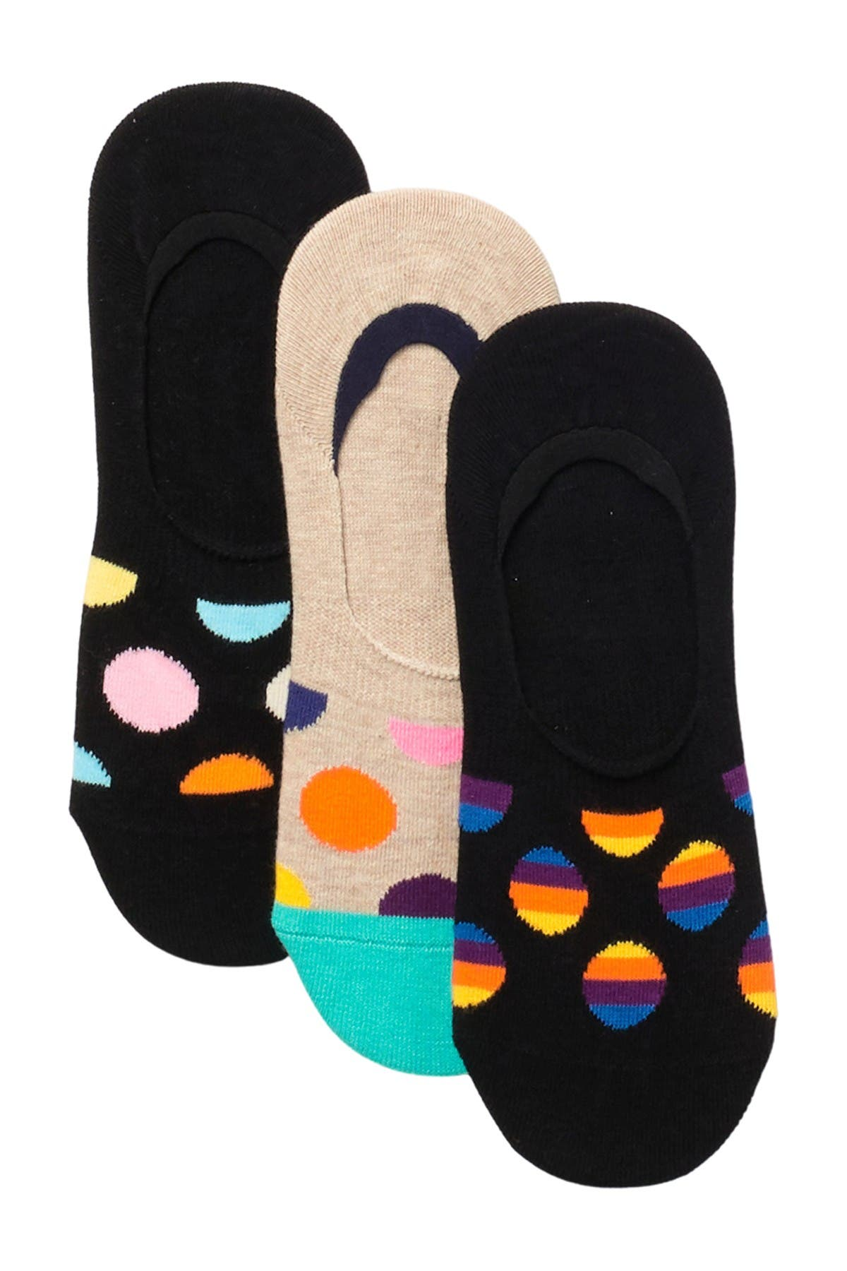 Image of Happy Socks Dot Liners - Pack of 3