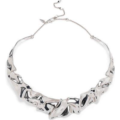 Alexis Bittar Crumpled Collar Necklace