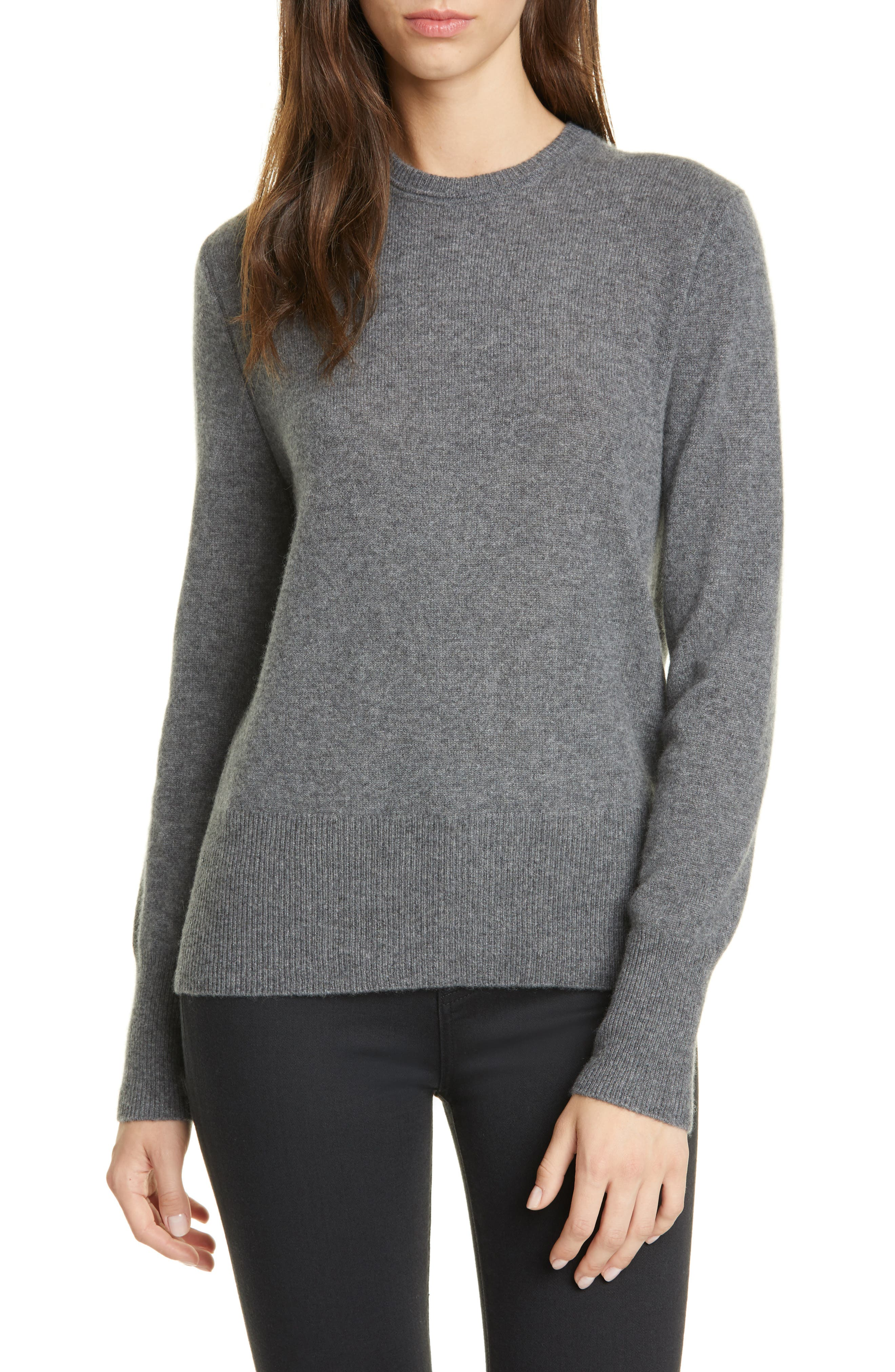 Extended, fine ribbing at the cuffs and hem detail a cashmere sweater that makes a soft, cozy base for your layered-up look. Style Name: Equipment Sanni Cashmere Sweater. Style Number: 5908620. Available in stores.