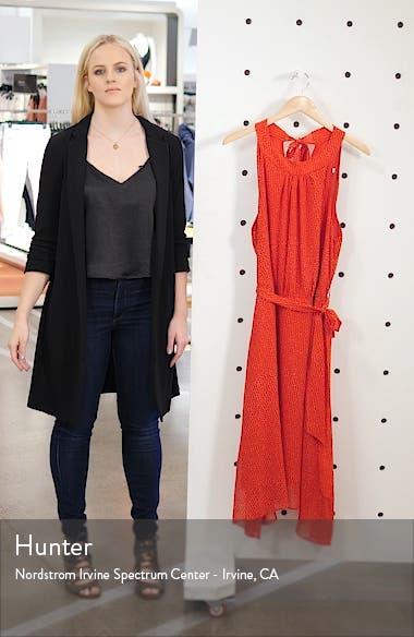 Ruby Rose Halter Neck Handkerchief Hem Dress, sales video thumbnail
