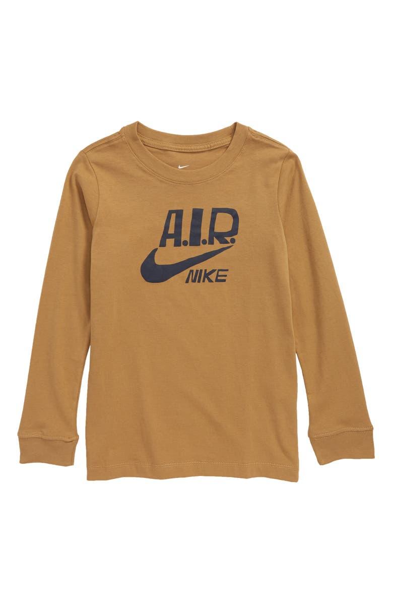 NIKE Logo T-Shirt, Main, color, 243