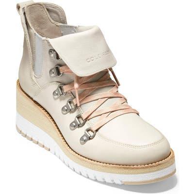 Cole Haan Zerogrand Waterproof Wedge Hiker Boot, Brown