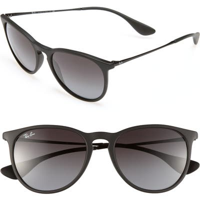 Ray-Ban Erika Classic 5m Sunglasses - Black/ Grey Gradient