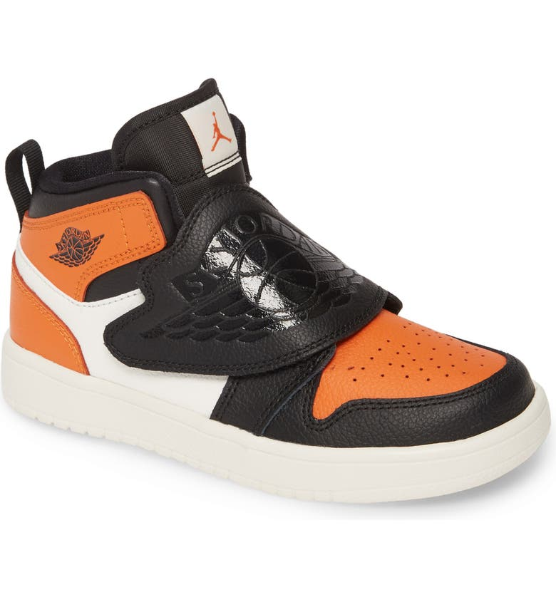 JORDAN Air Jordan Sky 1 Basketball Shoe, Main, color, BLACK/ STARFISH-SAIL
