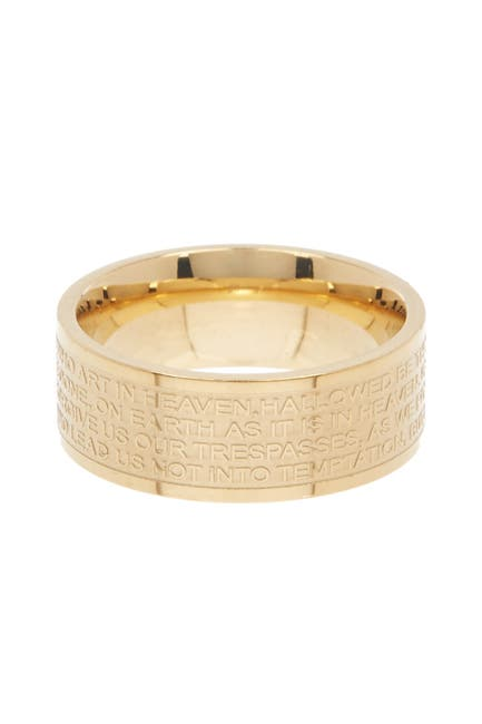 Image of HMY Jewelry Our Father Prayer Ring