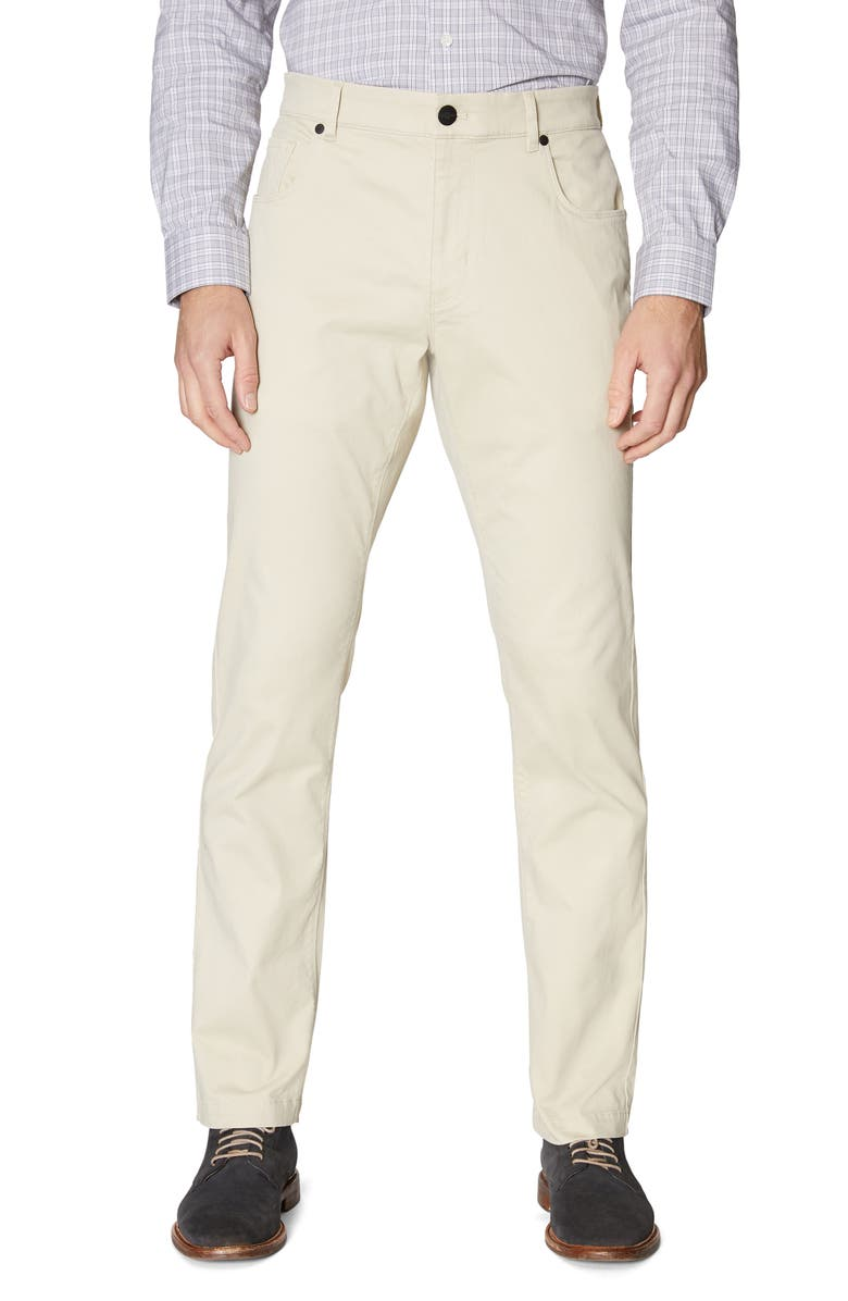 HICKEY FREEMAN Core Stretch Cotton Pants, Main, color, TAN
