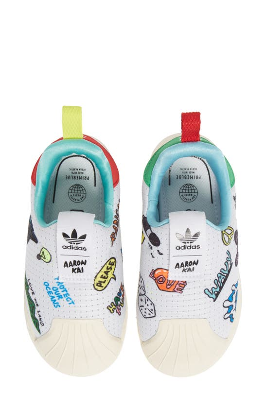 Adidas Originals Babies' Superstar 360 Primeblue Pull-on Sneaker ...