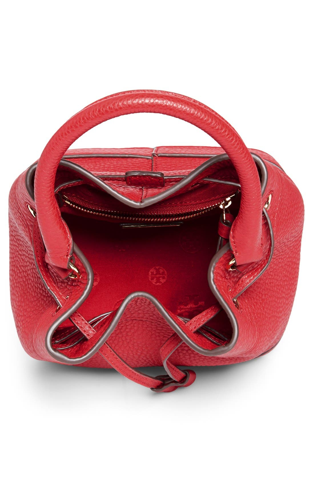 ,                             'Robinson' Pebbled Mini Bucket Bag,                             Alternate thumbnail 7, color,                             600