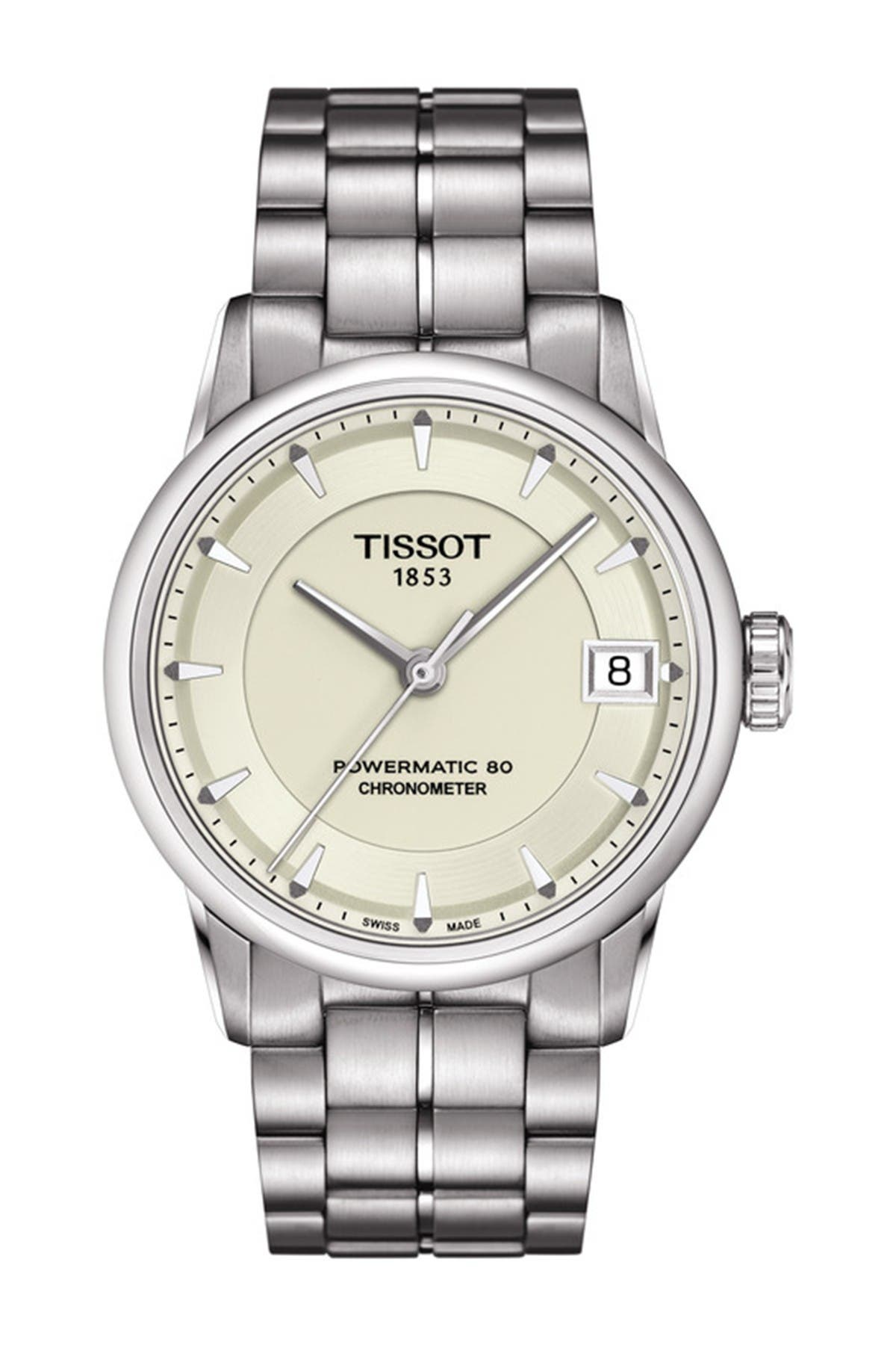 Image of Tissot Women's Luxury Powermatic 80 Lady COSC Watch, 33mm