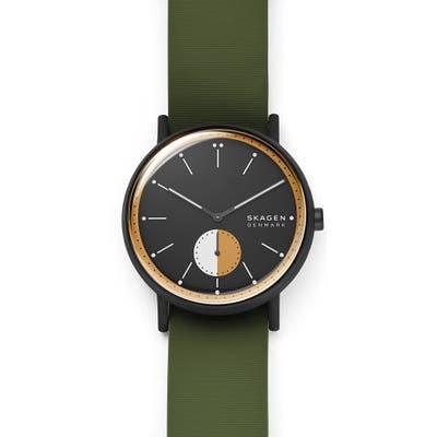 Skagen Signature Nylon Strap Watch, 42Mm