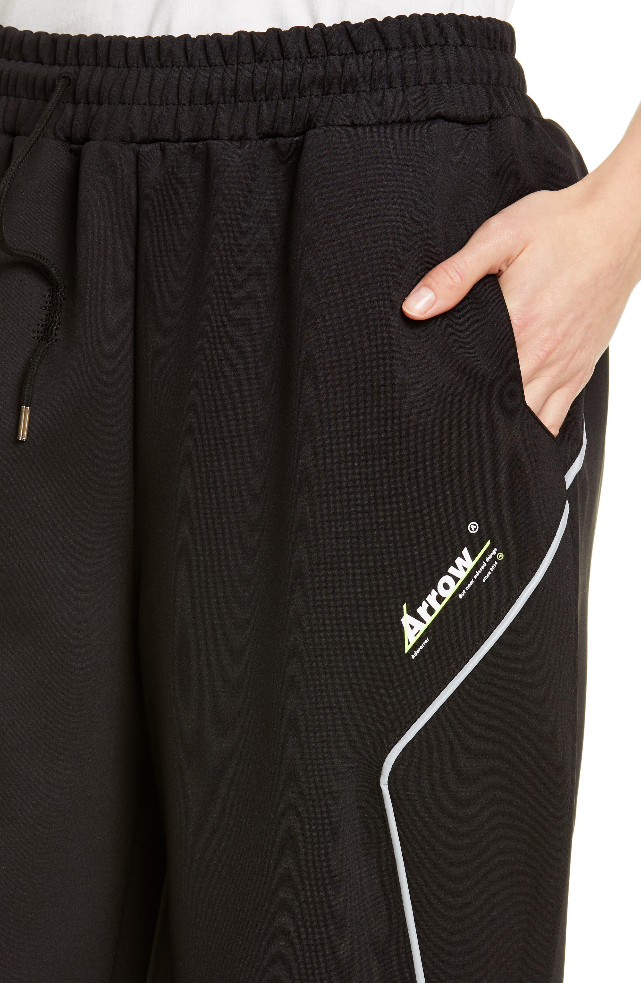 ,                             Logo Track Pants,                             Alternate thumbnail 4, color,                             1 BLACK SC1
