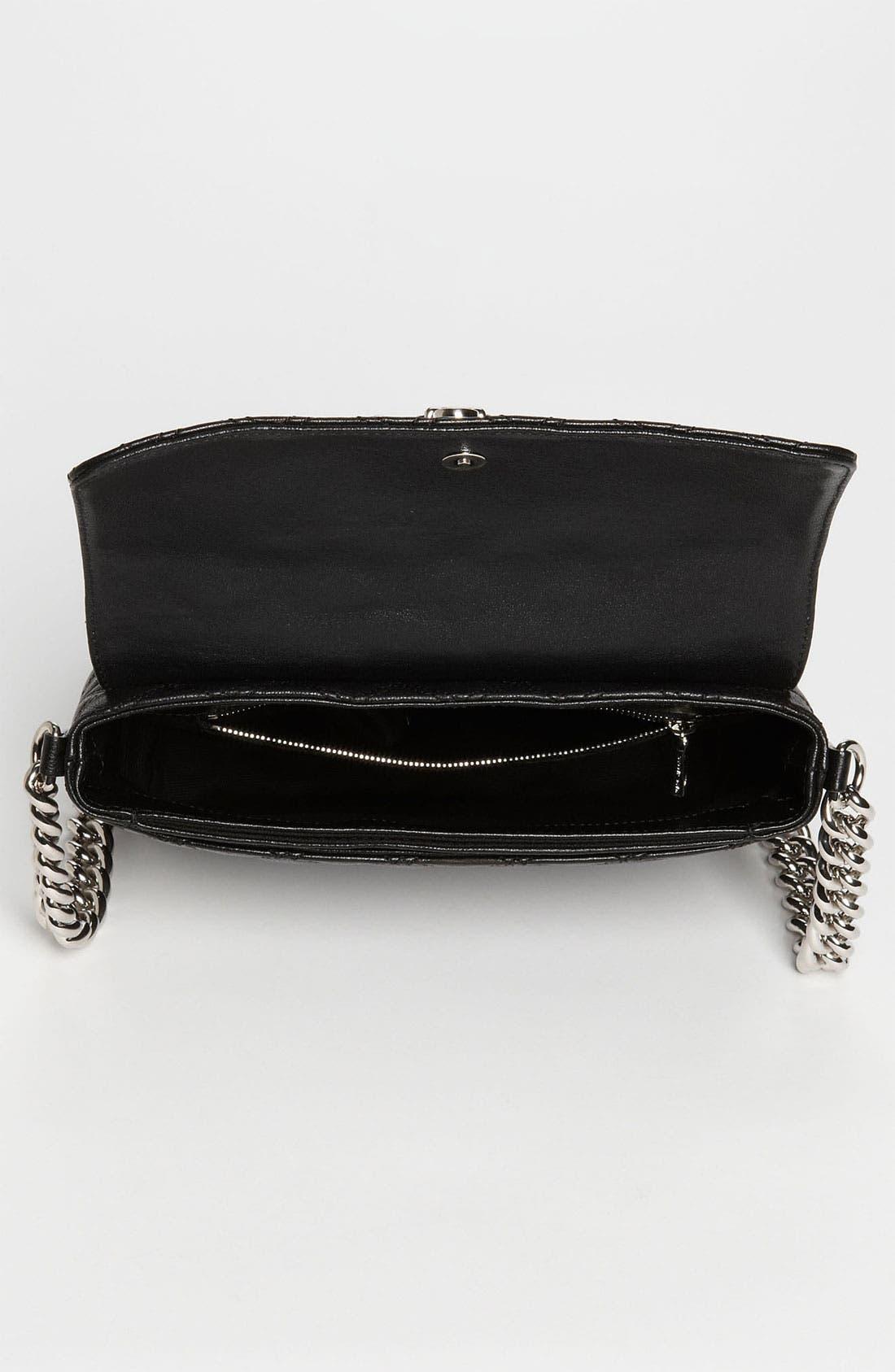 ,                             'Large Quilting Single' Leather Shoulder Bag,                             Alternate thumbnail 6, color,                             003