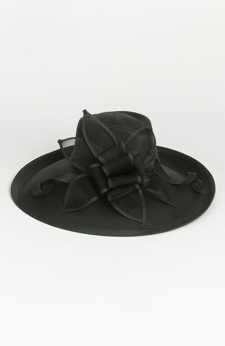 AUGUST HAT 'Garnet Romantic' Hat, Main, color, 001