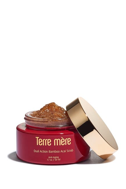 Image of Terre Mere Dual Action Bamboo Acai Scrub