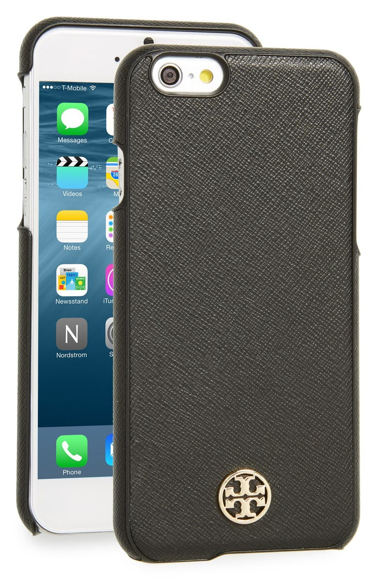 TORY BURCH Robinson iPhone 6/6s Case, Main, color, 001
