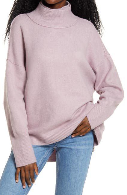 Image of Free People Afterglow Mock Neck Top
