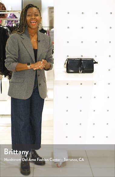 Faux Leather Shoulder Bag, sales video thumbnail