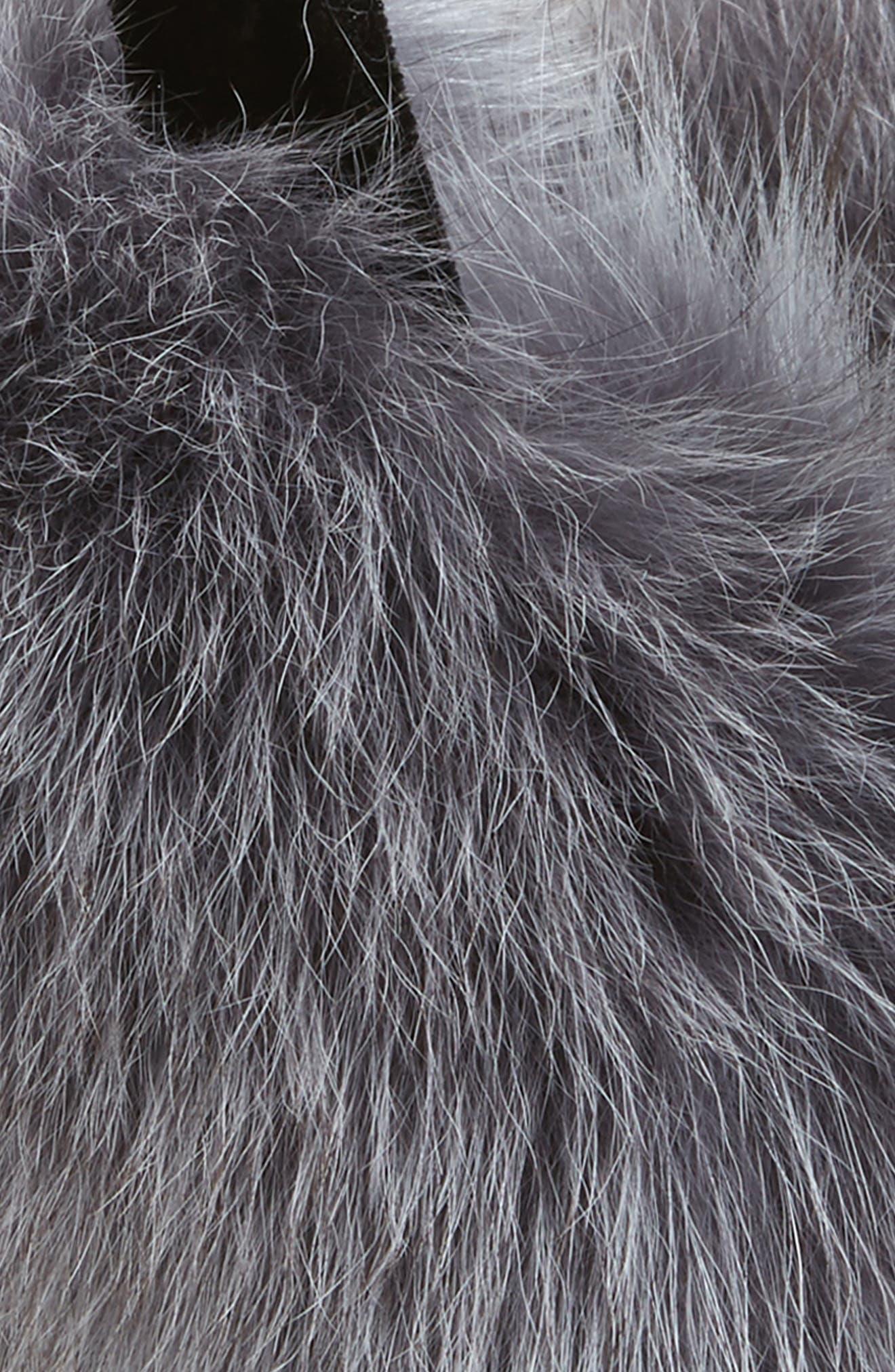 ,                             Genuine Fox Fur Earmuffs,                             Alternate thumbnail 6, color,                             029