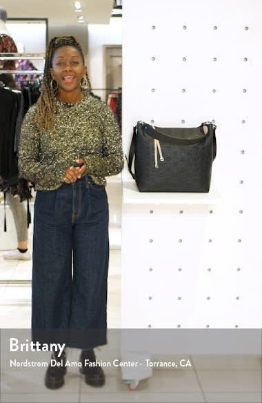 Large Klara Monogram Leather Hobo, sales video thumbnail