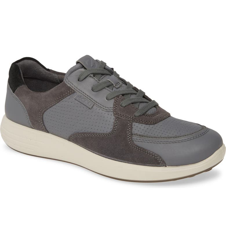 ECCO Soft 7 Runner Sneaker, Main, color, DARK SHADOW/ MAGNET