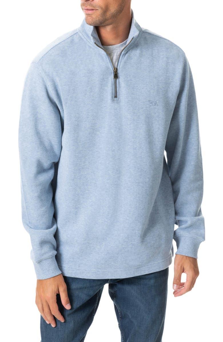 RODD & GUNN Alton Ave Regular Fit Pullover Sweatshirt, Main, color, SEA BREEZE