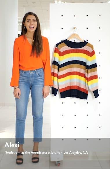 x Atlantic-Pacific Blouson Sleeve Sweater, sales video thumbnail