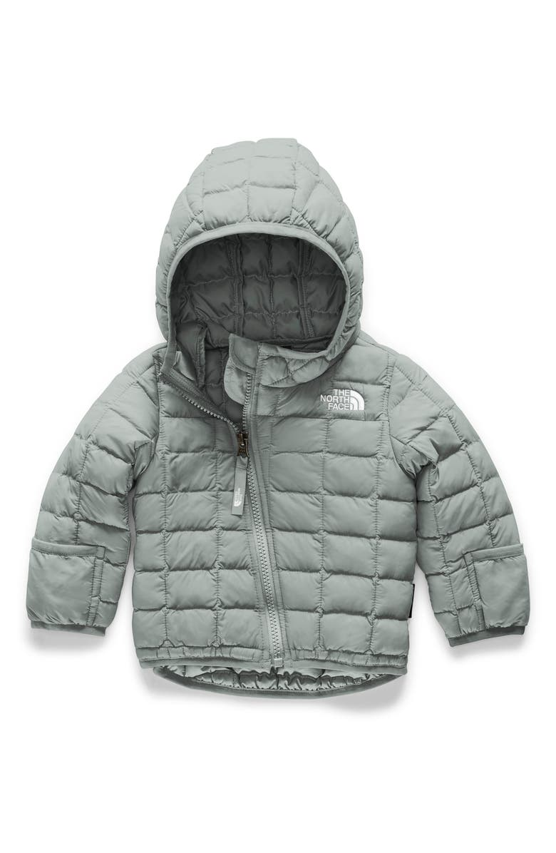 THE NORTH FACE ThermoBall<sup>™</sup> Eco Hooded Jacket, Main, color, MELD GREY