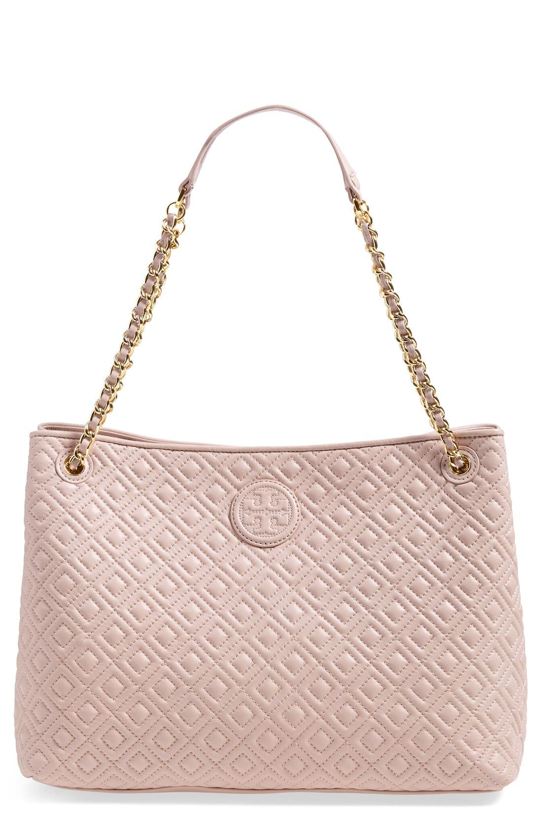 ,                             'Marion' Diamond Quilted Leather Tote,                             Main thumbnail 2, color,                             250