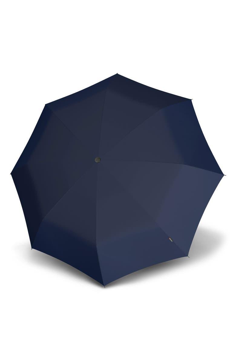 KNIRPS T200 Auto Open/Close Umbrella, Main, color, NAVY