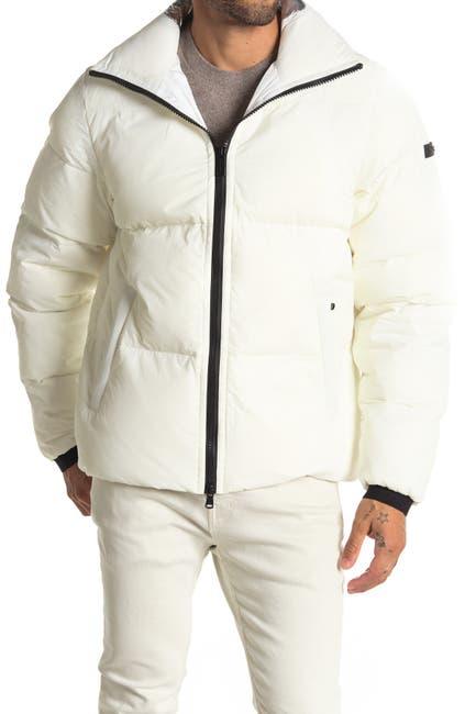 Image of Michael Kors Crinkle Nylon Puffer Jacket